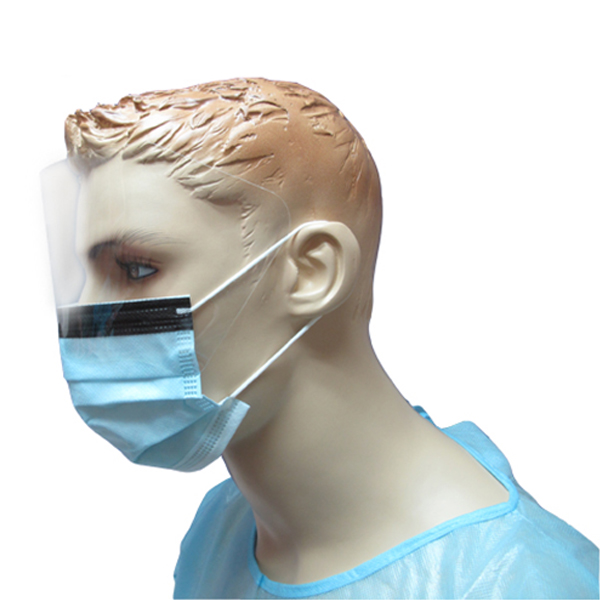 Disposable Eye-Shield Surgical Mask with FDA510K