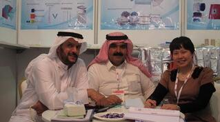 Wellmien attended the ARAB HEALTH EXHIBITION 2013 which was held in Dubai, UAE