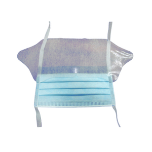 FDA 510K/EN14683 surgical face mask with Eye Shield