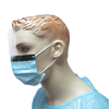 Fluid-resistant Surgical Mask With Fog-free Foam And Antiglare Eyeshield