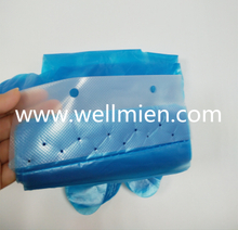 Disposable Cleaning PE Gloves with Hole